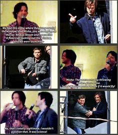 Brilliant But Poor Misha ~Supernatural