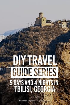 5 Days and 4 Nights in Tbilisi, Georgia – DIY Travel Guide Series Tbilisi is the capital city of Georgia, a country in Eastern Europe bordered by Russia to the East and North, Azerbaijan and Armenia to the South and Turkey to the West. It is also known by its previous name Tiflis. Dominated by Orthodox Christianity, it boasts in beautiful and historic Orthodox churches and medieval style architecture.