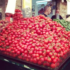 Jerusalem Market tomatoes, I hope I can grown this many
