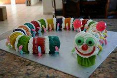 Cupcake caterpillar