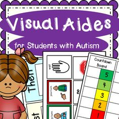 Visual Aides for Students with Autism and other special needs is a great resource for those visual cues for students on the spectrum or other related disabilities. Just print, laminate and cut out. This is a growing bundle that I will add to as I see a need and create : 5 different First - Then Charts If I do, Then I lose... chart 2 different countdown boards 2 different blank token boards Visual Schedule template AM and PM