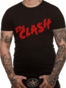 Officially licensed The Clash t-shirt design printed on a 100% cotton short sleeved T-shirt.