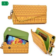 Gigabyte GSmart Classic Pro Wristlet phone case Ideal to protect and organize your Cash/Cards/Phone in one