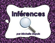 Inférences -  Ensemble A (24 cartes d'inférences)