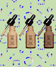 Nyx's Cheap Foundation Is As Good As The Fancy Stuff #refinery29 http://www.refinery29.com/2016/12/132158/nyx-cosmetics-total-control-foundation