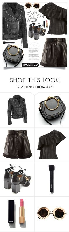 """""""Pack and Go: Paris Fashion Week"""" by samra-bv ❤ liked on Polyvore featuring Yves Saint Laurent, A.L.C., Rue St., Chanel and Gucci"""