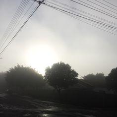 Amanhecer nebuloso - Prado Ferreira