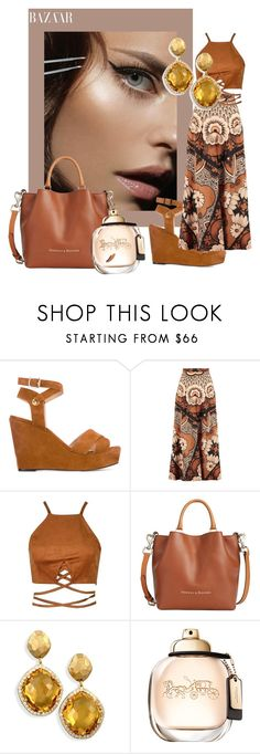 """""""Classy and fabulous"""" by sofiacalo ❤ liked on Polyvore featuring Tila March, Valentino and Dooney & Bourke"""