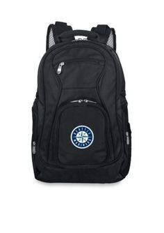 Mojo Seattle Mariners Premium 19 In Laptop Backpack