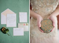 winter wedding invitation suite by Parrott Design Studio, captured by Carrie Pellerin