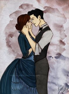 William Herondale & Tessa Gray.
