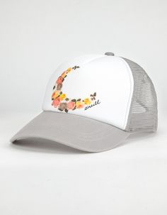 8aa38c3ca1be6 O NEILL Lovebug Girls Trucker Hat - GRAY - SU686001. RugratsLove  BugsCarouselKids ...