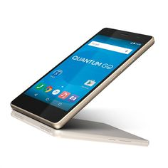 Smartphone Quantum GO Champagne Gold