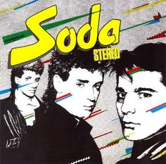 Soda Stereo was an Argentine rock trio formed in 1982 consisting of guitarist and vocalist Gustavo Cerati, bassist Zeta Bosio and drummer Charly Alberti. Soda Stereo, Rock And Roll, Rock Argentino, Music Journal, Pochette Album, Gifs, Lp Cover, Cover Art, Latin Music