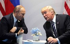 "Even if, arguably, the Constitutional threshold for ""Treason"" is not yet met, today in Helsinki Trump has clearly committed other impeachable ""high crimes and misdemeanors.""(Photo: Presidential Administration of Russia) Helsinki, G20 Hamburg, Hamburg Germany, Donald Trump, Putin Trump, Air Force One, Washington, Pro Trump, Us Politics"