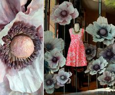 Anthropologie Summer Window Displays: ALL NATURAL DYES right now #anthropologie
