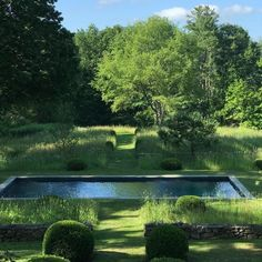 Design by Miranda Brooks / located in the Berkshires, Upstate N. Swimming Pool Landscaping, Swimming Pool Designs, Modern Landscaping, Backyard Landscaping, Swimming Pools, Miranda Brooks, Landscape Design, Garden Design, Natural Swimming Ponds