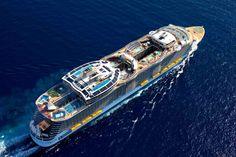 royal caribbean oasis of the seas | Royal Caribbean Oasis of the Seas vista aerea