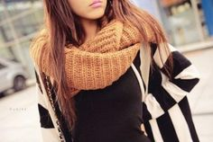 Cozy Knitted Scarves