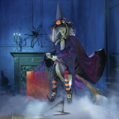 Life-Size Animated Witch from Ginny's ®