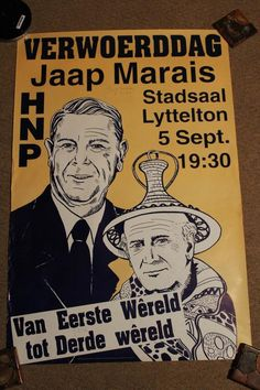 Africana - TWO HNP ELECTION POSTERS was sold for R200.00 on 31 Jan at 19:47 by BarbsE in Potchefstroom (ID:132727635)
