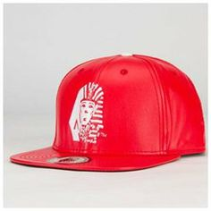 Last Kings OG Tut faux leather snapback hat. Last Kings Pharaoh logo  embroidery on front. Last Kings logo embroidery on back. 2244a06396cb