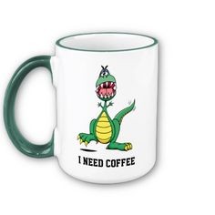 This fun Coffee Mug is the ideal gift for any Coffee addict. If you love your Coffee why not treat yourself to the mug that always hints and a fill up. Funny mug designed by Awesome Street.    http://www.zazzle.co.uk/i_need_coffee_mug_customisable-168842407957506488
