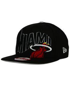 New Era Miami Heat Neon Wave 9FIFTY Snapback Cap