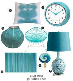 Color Crush Paradise Blue_decorative Accessories