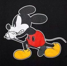 Eddie Vedder T-Shirt Mickey Mouse