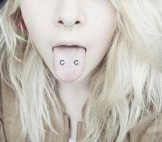 Piercing langue venon - #piercing