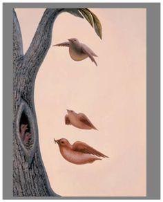 Family of birds - Octavio Ocampo