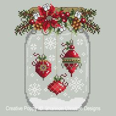 Christmas Ornament Snow Globecross stitch patternby Shannon Christine Designs Christmas Ornament Snow Globecross stitch patternby Shannon Christine Designs,Kreuzstich Lt b gt Christmas Ornament Snow Globe lt b gt lt br gt cross stitch pattern. Cross Stitch Christmas Ornaments, Xmas Cross Stitch, Christmas Embroidery, Counted Cross Stitch Patterns, Cross Stitch Charts, Cross Stitch Designs, Cross Stitching, Cross Stitch Embroidery, Embroidery Patterns