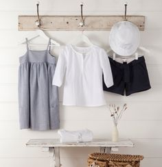 Summer fashion from Purebaby Kids