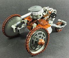 Czar Tank by Tekka-Croe on DeviantArt Lego Ww2, Lego Soldiers, Steampunk Lego, Lego Memes, Lego Design, Robot Design, Lego Machines, Lego Creator Sets, Lego Worlds