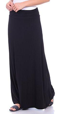 b121e0154d Popana Women s Casual Long Convertible Maxi Skirt Summer Beach Cover Up  Made in USA