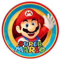 Super Mario Party Dinner Plates