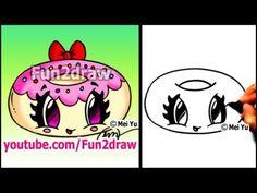 Fun2draw Donut | *Fun2draw Stars* by The Funny Drawers