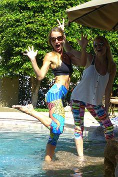 KAST Fitness Wear Authentic Brazilian workout pants  crops capris leggings tights