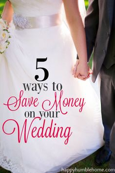 51 Ways to Save Money and Still Have a Chic and Fabulous Wedding!