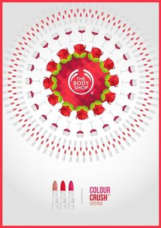Tropical Posters for Body Shop Campaign-3