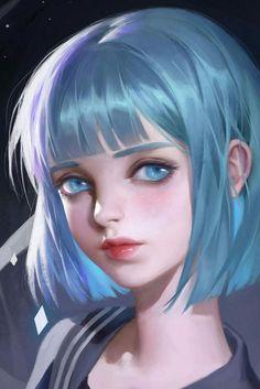 [Brothers Conflict] By Julie-Ai - Annonce - Wattpad Digital Art Girl, Digital Portrait, Portrait Art, Anime Art Girl, Manga Art, Anime Girls, Manga Anime, Fantasy Kunst, Fantasy Art