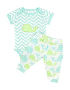Chevron Whale Outfit