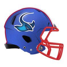manta sting ray fantasy football Logo helmet Fantasy Football Logos, Helmet Logo, Football Helmets, Concept