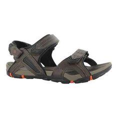 Men's Hi-Tec Altitude Ankle Strap Sandal Dark Chocolate/Black/Burnt (US Men's (Regular))