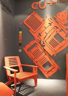 Ligne de meuble en panneaux colorés VOIR LES ASSEMBLAGES DEMONTABLES