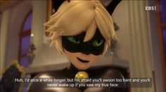 He totally just broke the fourth wall and addressed every fangirl - Rogercop - Cat Noir