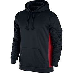 91a87dceaf Mens Nike KO Hoodie 30 BlackRed Size Small   Check out this great product. (