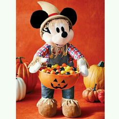 Great way to greet Trick or Treaters! Mickey holds a bowl that is great for displaying candy or any other seasonal items! Regularly $29.99 Youravon.com/tabithaskinner
