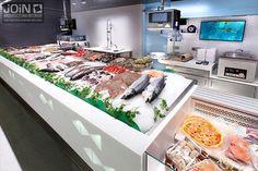 Pescadería - diseño de pescaderías - paradas de mercado - poissonnerie - poissonnier - pescareis